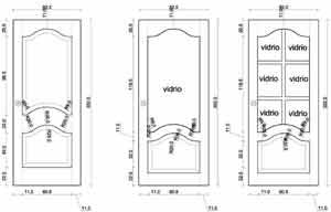 Puertas de madera de la mejor calidad car interior design - Medidas puertas interior ...