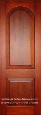 Artefacturas puertas en madera solida for Modelos de puertas de calle